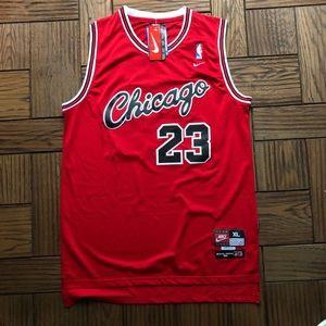NWT Michael Jordan Script Bulls Nike Rookie Jersey